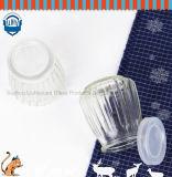 Бессвинцовые высокотемпературные упорные стеклянные бутылка пудинга/опарник пудинга/опарник чашки студня/югурта