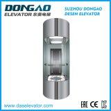 Série ronde d'Ascenseur-Moitié de passager d'observation