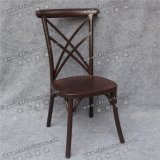خمر أحمر معدن ألومنيوم يتعشّى [إكس] كرسي تثبيت خلفيّة لأنّ عرس [يك-س70]