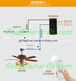 El control remoto inalámbrico RF para ventilador de techo lámpara F30