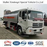 euro 4 do caminhão de tanque do petróleo da gasolina da gasolina do euro 4 de 15cbm Dongfeng