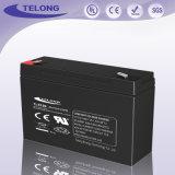 bateria recarregável selada 6V12ah do sistema solar da potência