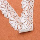 Derniers modèles de mode de robe Nylon Spandex Bridal Elastic Lace Trim