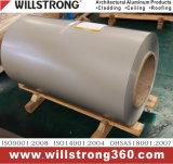 les graines en bois de 0.25mm ont enduit la bobine d'une première couche de peinture en aluminium