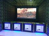 Jeu d'intérieur de chasse de tir de Vr de machine de héros du jeu 4 bon marché de simulateur de virtual reality de divertissement