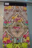 100% tessuto della tenda del velluto di stampa del tessuto lavorato a maglia poliestere (EDM0450)
