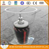 isolation 133% de cuivre du conducteur 35kv 1/0 2/0 3/0 câble d'alimentation du niveau Mv-90/Mv-105 Urd de taille