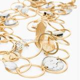 新しい方法女性の宝石類のネックレスの鎖文の胸当てがっしりしたカラーペンダント