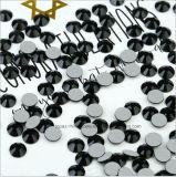 Form-Kristallstein für Strahlen-Schwarz-nicht heiße Verlegenheits-flache RückseiteRhinestones der Dame-Dress Ss10 (FB--ss10 Strahl black/3A)