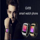 Gv09 Bluetooth Smart montre avec bracelet en silicone téléphone montre de sport