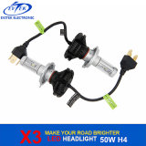 Automotive 50W 6000lm H4 Hi / Lo X3 Car LED Ampoules à phare pour voiture LED Head Lamp