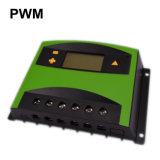 Lithium-Batterie-Solaraufladeeinheit der LCD-Bildschirmanzeige-12V/24V 60A/Ladung-Controller