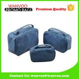 Kundenspezifische Form PU-kosmetische Handtaschen-weicher Toilettenartikel-Beutel