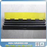 Cable Ramp Cable Protector, 3 canais PU Wire Protector