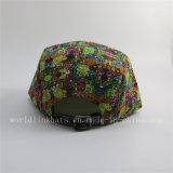 عادة جميعا على يطبع 5 لوح قبعة /Cap مع جلد رقعة