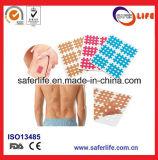 X el pegamento impermeable del vendaje del dolor aguanta el vendaje médico desgarrable de la acupuntura de la cinta del dolor