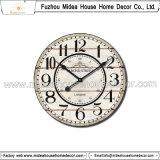 Colgar la decoración del hogar artesanía de madera del reloj de pared