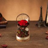 La promoción de flores naturales hechos a mano para regalo de cumpleaños