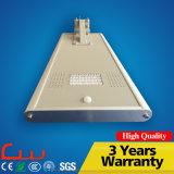 Lâmpada solar Integrated da luz de rua de IP65 20W