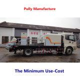 Bomba portátil elétrica versátil do cimento da eficiência elevada da manufatura da polia (HBT50.10.55S)