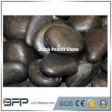 3-5cm черный Polished естественный камень Cobble & камушка