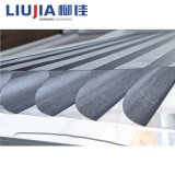 Venta de fábrica de tejido de poliéster cortinas persianas de rodillo de la ventana personalizada