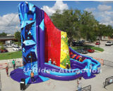 Riesiger HIMMEL aufblasbare kletternde Wand-kletternde Gebirgssportspiel klebrige Felsen-Wand