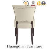 Оптовая торговля мебелью из светлого дерева ресторан ткань обеденный стул (HD455)