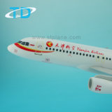 A320 à Tianjin Airlines 1/100 37,6 cm Art Artisanat Traditionnel