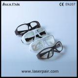 Transparente Objektive äh der Lasersicherheits-Schauspiele u. der Laser-Schutzbrillen (2700-3000nm) mit grauem Spant 55