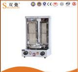 ScX206C 3ステンレス鋼のガスのShawarma機械(調節可能な)