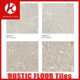 De semi Opgepoetste Rustieke Tegel van het Porselein, Lichtbruine Verglaasde Vloer en de Ceramiektegels van de Muur