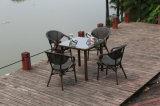 Ineinander greifen-Patio-Tisch-Ineinander greifen-Patio-Stuhl-im Freienpatio-Möbel