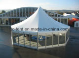 шатер Pagoda случая венчания шестиугольника диаметра 6m алюминиевый