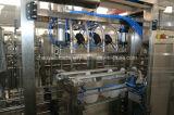プラスチックによってびん詰めにされるオイルの自動充填機