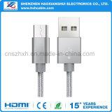 Nylon Braided Тип-C кабель USB для вспомогательного оборудования телефона
