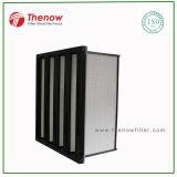 Filtro compacto utiliza en sistemas de aire acondicionado