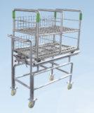 Stérilisateur pharmaceutique horizontal d'autoclave de fiole/ampoule