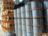 Провод /PVC провода оцинкованной стали поставкы фабрики/провода черного листового железа Coated в катышке на сбывании