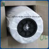 Пленка слоения PVC бумаги затыловки желтого цвета верхнего качества холодная