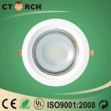 5W MAZORCA LED Downlight usado para la lámpara de interior de la luz del trabajo