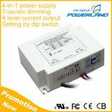L'homologation UL 52W 1.0A 1.1A 1.2A 1.3A de triac Elv Driver de LED à gradation