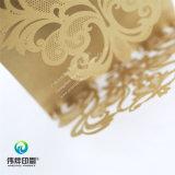 Tarjeta regalo exclusivo marrón pálido Impresión con tallar