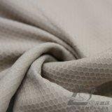 água de 75D 240t & do Sportswear tela 100% tecida do Pongee do poliéster do jacquard da manta do futebol para baixo revestimento ao ar livre Vento-Resistente (E139)