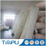 Tissu jacquard géométrique revêtuté de polyester 100% poli pour matelas protecteur