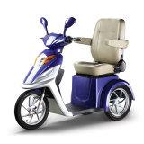 трицикл тормоза руки 500W 50km электрический с местом пассажира