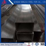 ASTM A554 визирной линии трубы прямоугольного сечения из полированной нержавеющей стали