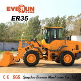 セリウムCertificateとのEverun Brand Wheel Loader Hoflader (ER35)