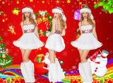 산타클로스 Cosplay Christmas Costume 도매 섹시한 숙녀