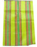 Matériau vierge tissés sac en plastique laminé 40kg pour l'alimentation à engrais